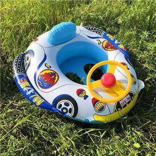 嬰兒游泳艇 ( 有呔盤及喇叭 )