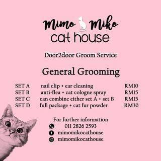 DOOR2DOOR CAT GROOMING