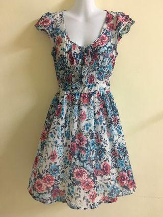 Jaspal floral dress