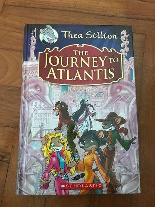 Thea Stilton book : The Journey to Atlantis