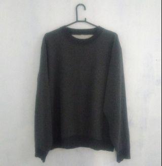 Crewneck Uniqlo Dark Grey (L)