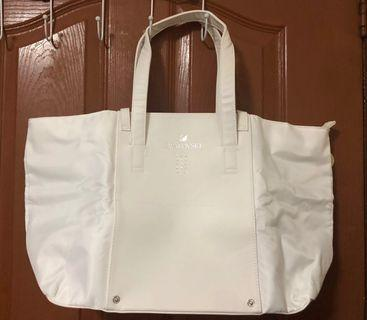 Swarovski Limited Edition White Tote Bag with box