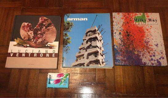 🚚 Art books and magazines