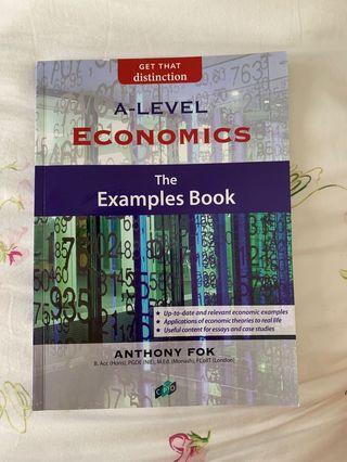 🚚 A LEVEL ECONOMICS EXAMPLES BOOK