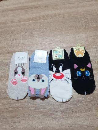 🚚 Korean cute Socks (4 for $8)