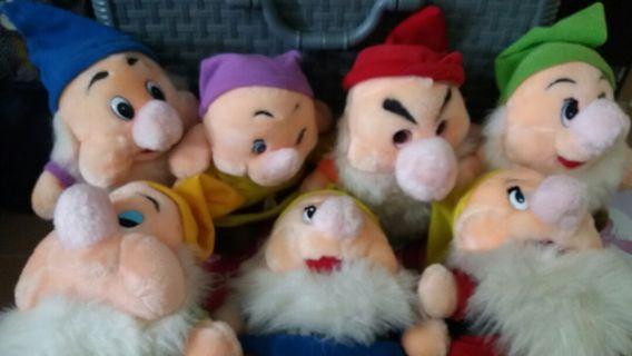 7 Dwarfs Soft Toys