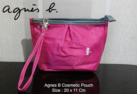 * BRAND NEW AGNES B Small Pouch Pink