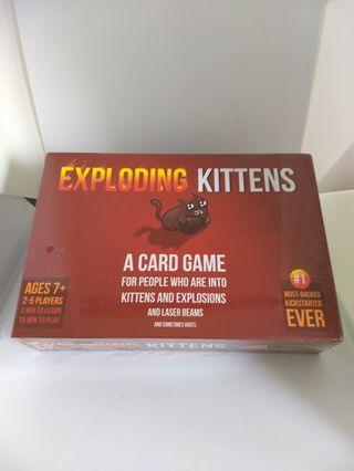 🚚 Exploding Kittens Original Edition