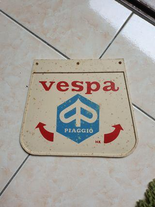 Mudflap vespa new old stock