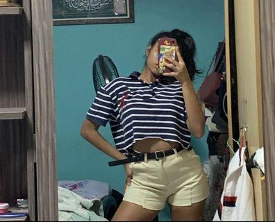 🚚 VINTAGE RALPH LAUREN CROPPED POLO