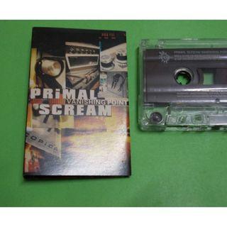 CASSETTE PRIMAL SCREAM : VANISHING POINT ALBUM (1997) ALTERNATIVE NOISE ROCK