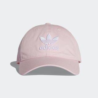 7ad051d7757 Adidas Originals Light Pink Trefoil Cap