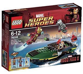 lego 76006 Extremis Sea Battle