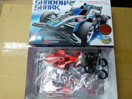 Tamiya 四驅車 mini 4wd 電鍍版 Shark