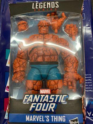🚚 Hasbro Marvel legends fantastic 4 the thing