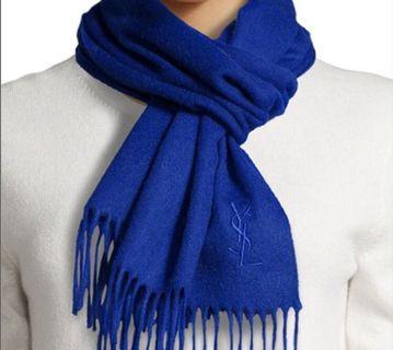 YSL Wool scarf 羊毛頸巾