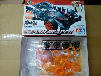 Tamiya 四驅車 mini 4wd 透明橙