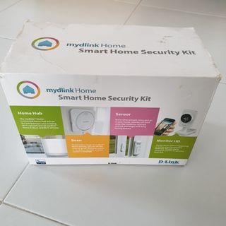 D-link security camera alarm