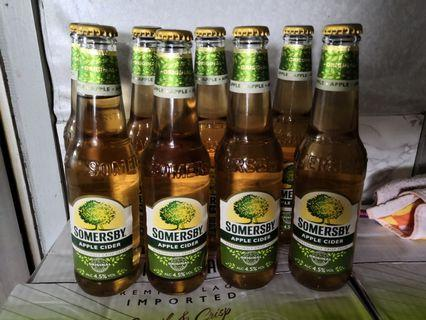 Somersby apple cider 蘋果疏打酒 8支