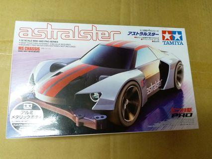 Tamiya 四驅車 mini 4wd 電鍍版 Astralster