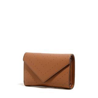 * BRAND NEW CHARLES & KEITH Envelope Wallet Brown