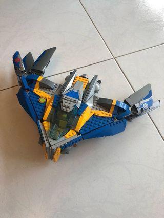 LEGO guardians of the galaxy the Milano spaceship rescue 76021 #endgameyourexcess