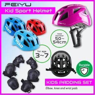 FEIYU Kids Skating Helmet Bicycle Skate Balance Bike Gear Protection Helmet