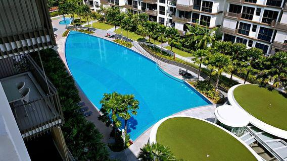 ★★THE INFLORA - 1BR. HIGH FLOOR. WINDY. UNBLOCKED VIEW. 5MINS TO MRT & TPE ★★