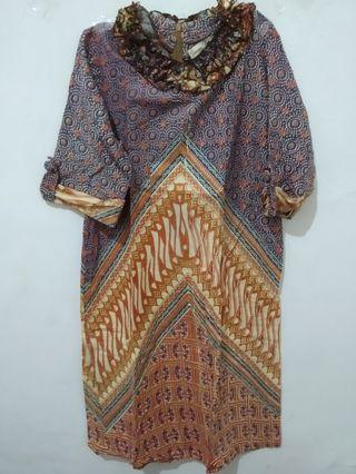 Dress Batik Gunawan Design (Very Good Condition)