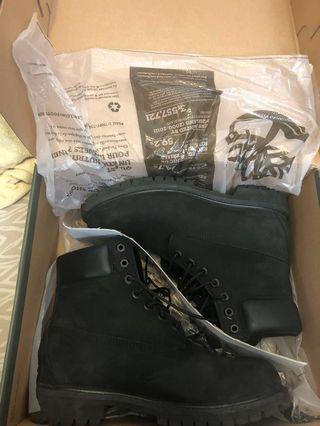 Timberland 黑色靴 防水版 Waterproof Boot