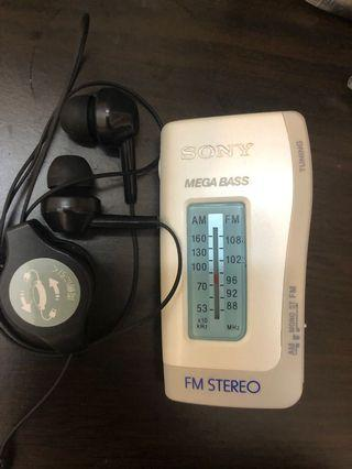 Sony FM stereo 收音機 用來考dse