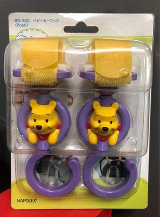 Winnie the Pooh BB車掛勾 嬰兒車勾
