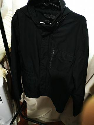 Giordano's jacket with hoodie