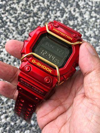 🚚 Brand new and 💯% authentic and original GX56 aka G-Shock king in custom Iron Man Theme bezel and band. Gx56bb , gx-56bb , gxw56 , gxw-56 , gshock , g/shock , Casio , CASIO