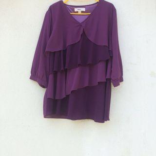 Purple Layered Blouse #EST50