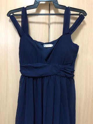 🚚 Royal Blue Dress