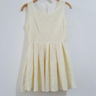 Ivory Creamy White Dress