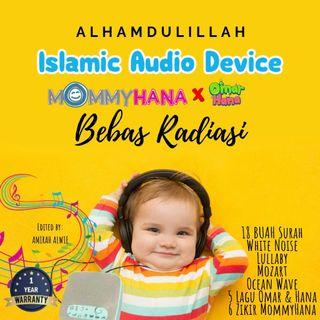 Mind therapy (soothing sound) with best Al-Quran recitation by Ustaz Muzammil Hasballah and wonderful Zikir songs by MommyHana. Also include with White Noise, Mozart, Lullaby and Omar&Hana songs.