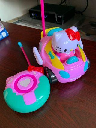 HK Hello Kitty Car with remote control #EndgameYourExcess
