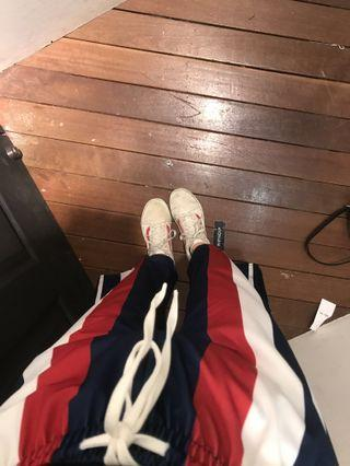 🚚 blue red white drawstring pants