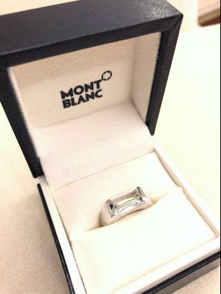 Montblanc sterling silver ring 925 純銀戒指