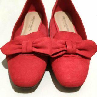 Christian Siriano (Payless) Red Ribbon Loafers