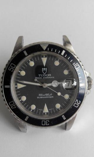 Tudor Submariner 75090 男裝舊款潛水錶 葯膏面