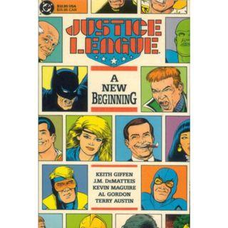 JUSTICE LEAGUE: A NEW BEGINNING TPB