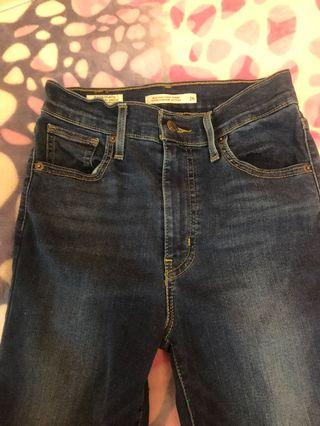 Levi's Mile High Super Skinny 26