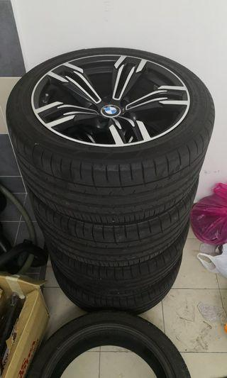 BMW F10 Sport Rim come with Dunlup Tyre