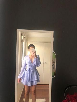 Purple playsuit