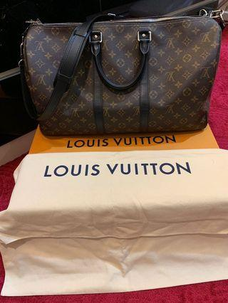LOUIS VUITTON KEEPALL 45 MONOGRAM MACASSAR