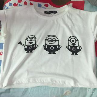 minions短身tshirt