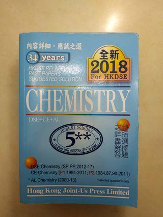 {Chemistry} 1984-2017 HKDSE PAST PAPER SOLUTIONS